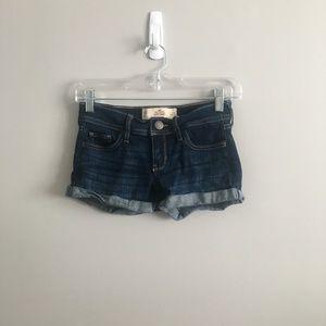 Hollister Denim Shorts #001